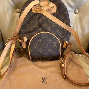 LOUIS VUITTON 2001 Monogram Ellipse Backpack